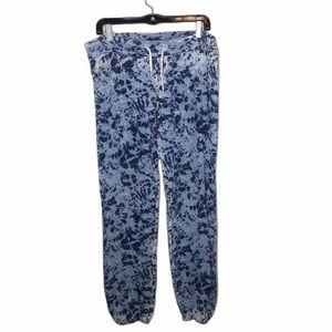 Monrow Soft and Cozy Tie Dye Pants